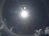 Кайлас 2014 май. Круговая радуга над Манасароваром