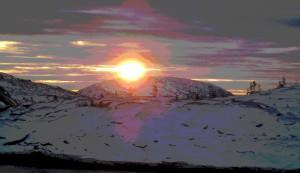 Соединение двух солнц в день зимнего солнцестояния