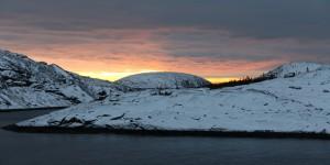 Зимний вид с острова Чернецкий
