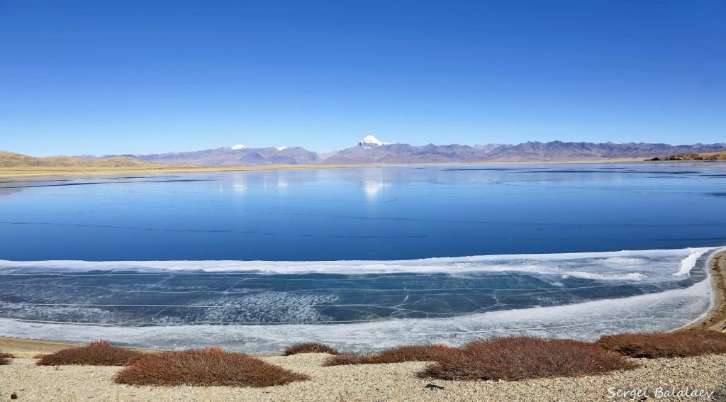 Южный берег озера Ракшас Тал