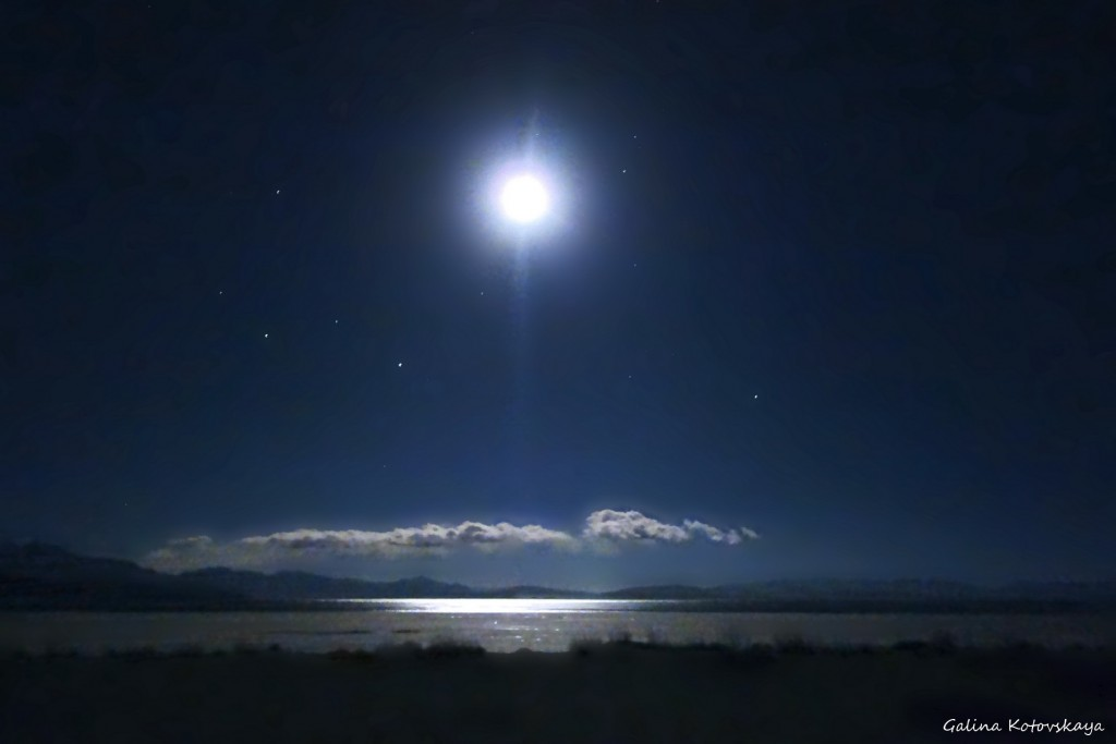 Зимнее солнцестояние у озера Манасаровар