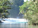 Мексика-Гватемала 2007. Водопады майя