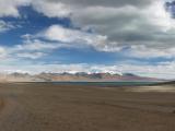 Озеро Чово Цо и гора Кадинг Кангри