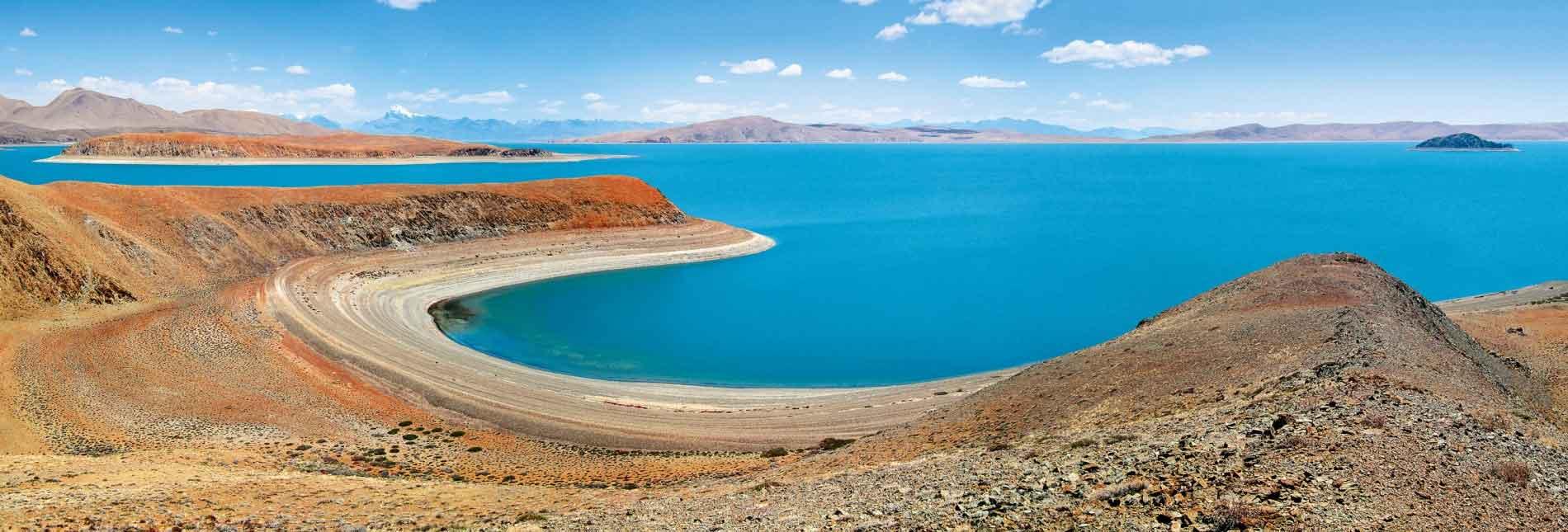 На островах озера Ракшас Тал